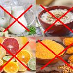 Нежелательные продукты при артрите